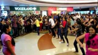Flash Mob at Mangalore City Center