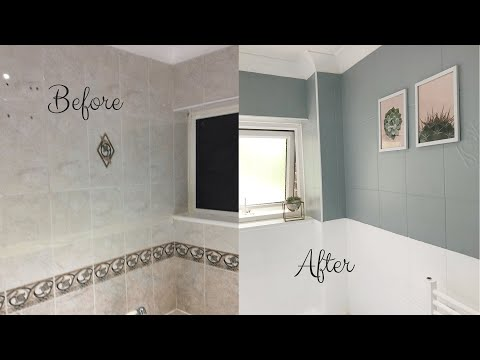 home-decor-2019|-diy-bathroom-tile-paint|-simple,-easy-and-inexpensive