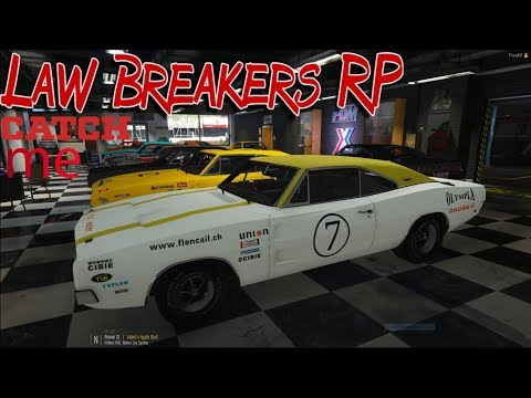 Law Breakers Rp.Shawn White Steals high-end supercars & a 1969 Dodge Charger In Los Santos(CATCH ME)