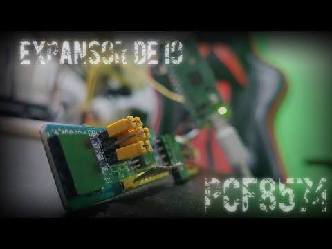 RPi Pico & I2C - Expansor de IO PCF8574