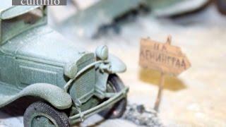 Выставка моделей военной техники периода Второй мировой войны открылась в Вологде