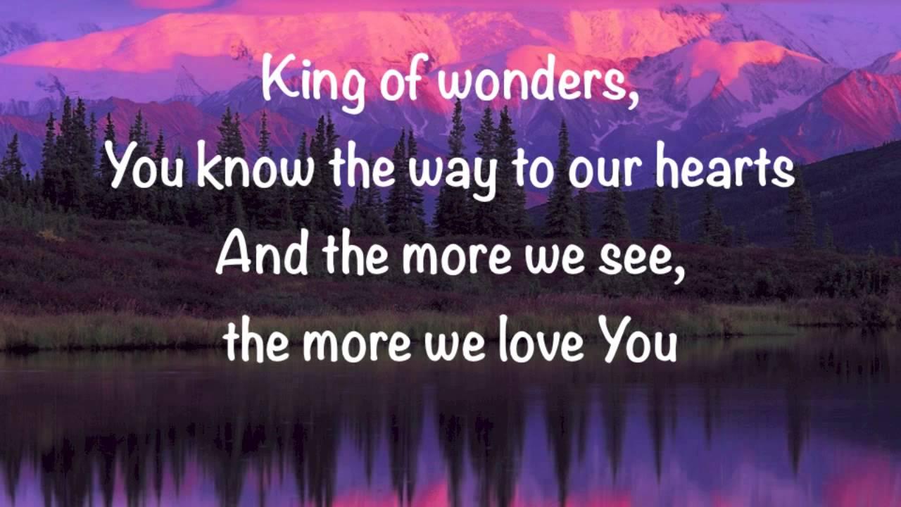 matt-redman-king-of-wonders-with-lyrics-gary-mcduffee