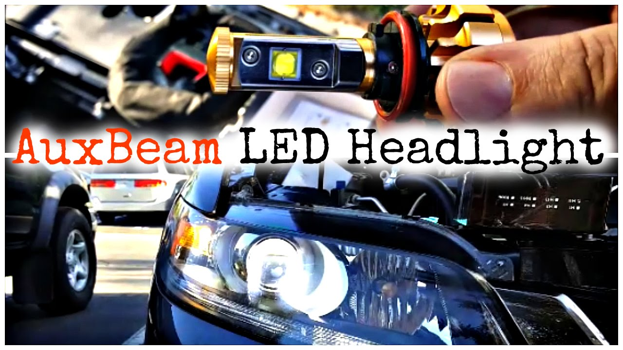 Full Review And Installation Auxbeam F 16 Led Headlight Bulb Youtube