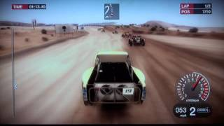 15 min z Colin McRae DIRT - PS3 Gameplay by maxim