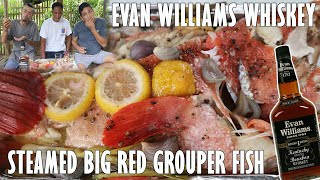 BIG RED GROUPER STEAMED WITH LEMON | EVAN WILLIAMS WHISKEY
