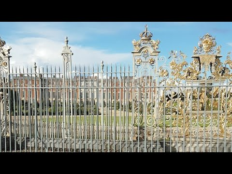 Hampton court palace  On The Thames  Christopher Wren Design