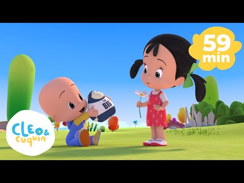 The Alphabet - ABC Song And More Nursery Rhymes Of Cleo And Cuquin | Songs For Kids