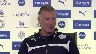 Nigel Pearson goes on incredible rant at 'ostrich' journalist after Leicester v Chelsea