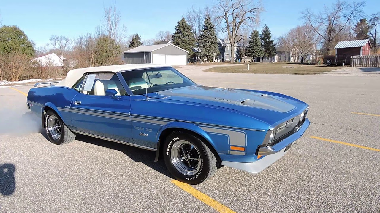 1971 Ford Mustang Convertible For Sale At