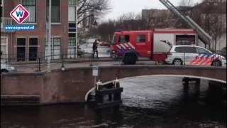 Grote wateroverlast Leiden door gesprongen hoofwaterleiding