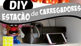 DIY CAIXA ORGANIZADORA DE FIOS | #ClubeDaCasa Ep.7
