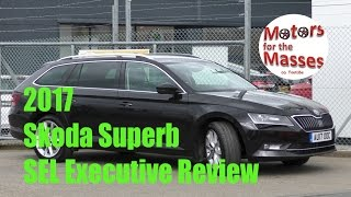 2017 NEW Skoda Superb TEST DRIVE Review