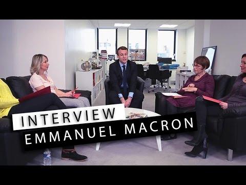 Interview Emmanuel Macron - Il se confie sur sa femme, Brigitte Macron