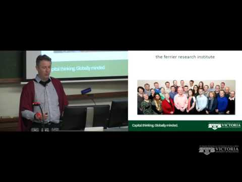 A love of chemistry, drugs and other things - Professor Gary Evans