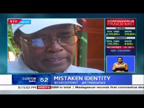 67-year-old Kenyan man Daniel Muthee who was mistaken to Rwanda genocide key suspect Felicien Kabuga
