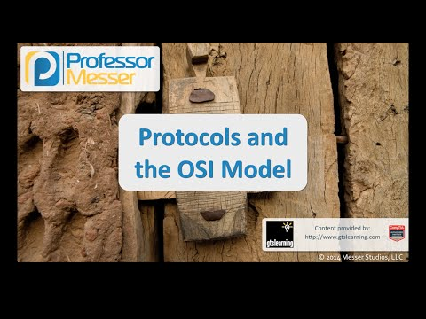 Protocols and the OSI Model - CompTIA Security+ SY0-401: 1.4