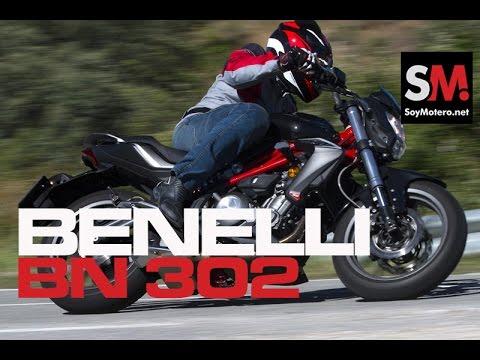 Benelli BN 302 2016: Prueba Naked - YouTube