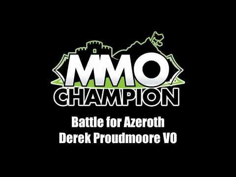 Patch 8.1.5 - Derek Proudmoore VO