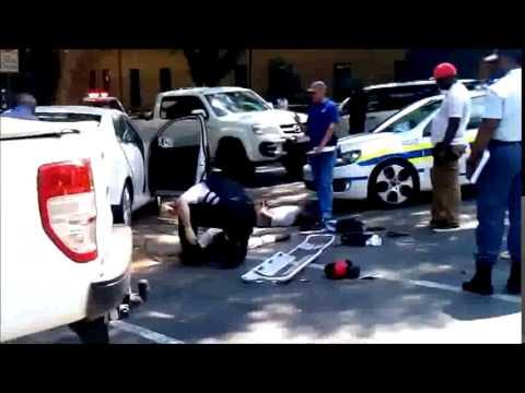 Video of hijackers shot in Rosebank.