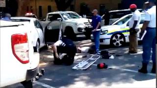Video of hijackers shot in Rosebank.
