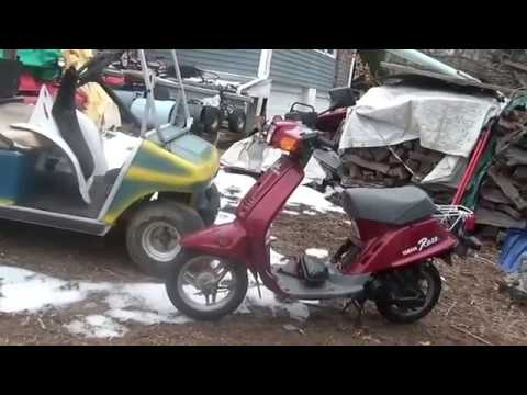 2000 Yamaha Razz 50cc Scooter Will Not Start Carb Hacked