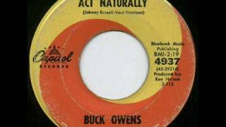 Country Music Videos Buck Owens – Act Naturally