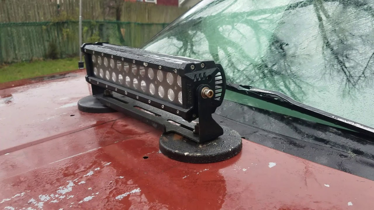 Diy Led Light Bar Magnet Mount