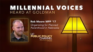 Millennial Voices Heard at Goldman: Rob Moore