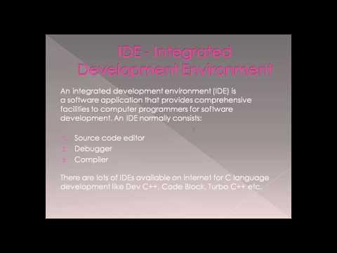 C Language Complete Course in Urdu/Hindi - IDE   Integrated Development Environment