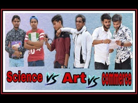 Science Vs Art Vs Commerce 🔥| By SBB Vines.
