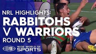 NRL Highlights: South Sydney Rabbitohs v Warriors - Round 5 | NRL on Nine