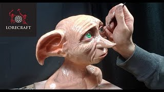 Sculpting Dobby - Harry Potter special - timelapse sculpt and airbrush demo