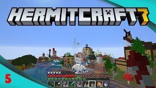 Shopping & Flying - Hermitcraft 7 Ep5
