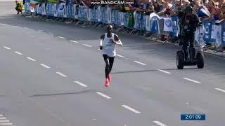 Eliud Kipchoge 2018 Berlin Marathon World Record