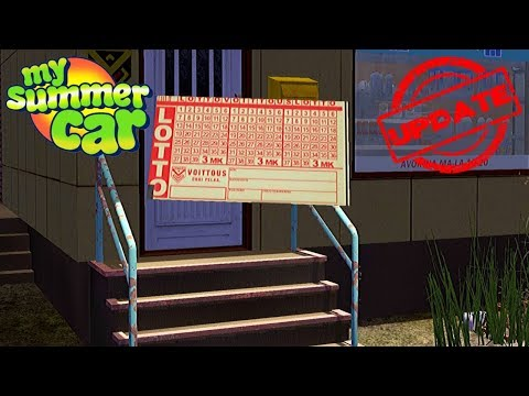 LOTTO LOTTERY - I'M RECEIVING A BIGGEST WIN - My Summer Car Update #20 | Radex