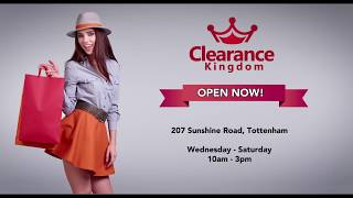 Clearance Kingdom Commercial