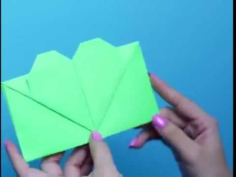 Mẹo vặt với giấy: làm đồ chặn sách, bao thư, hộp quà