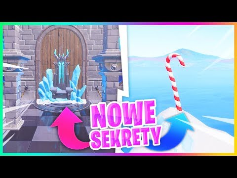 10 NOWYCH SEKRETÓW MAPY! (UPDATE 7.10) - Fortnite Battle Royale