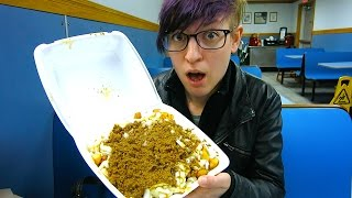 Eating A Garbage Plate