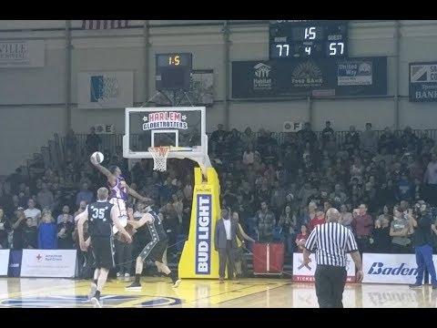 Harlem Globetrotters in Santa Cruz, Win the game! 11/2/2017