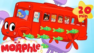 Underwater BUS Morphle! My Magic Pet Morphle   Cartoons For Kids   Morphle   Mila and Morphle