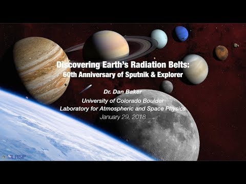 Discovering Earth's Radiation Belts: 60th Anniversary of Sputnik & Explorer