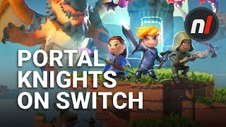 Minecraft, But with Production Value | Portal Knights on Nintendo Switch First Look