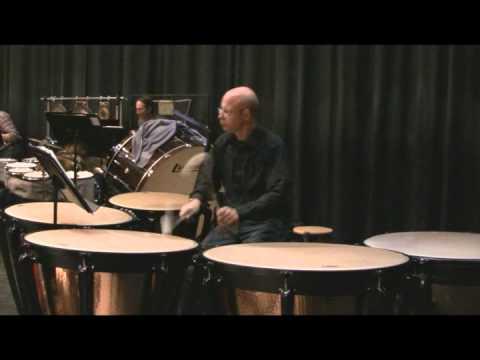 Maslanka Symphony 4 - Rehearsal - Timpani
