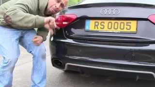 JP Performance - Audi RS5 Abgasanlage