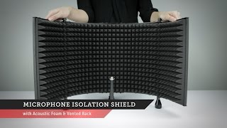 Microphone Isolation Shield | Monoprice Quick Look