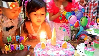 Video Selamat Ulang Tahun Hana ke-5. Surprise Cake Birthday Potong Kue Ulang Tahun di Rumah.Happy Birthday download MP3, 3GP, MP4, WEBM, AVI, FLV September 2018