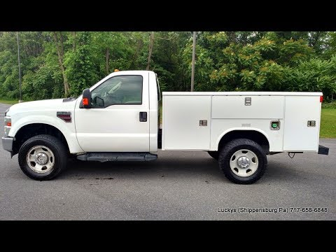 2008 ford f350 body style