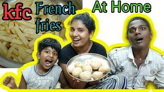 (DIML)Family Vlog with French fries😍😍Lockdown time/kanmani edhu namba style vlog