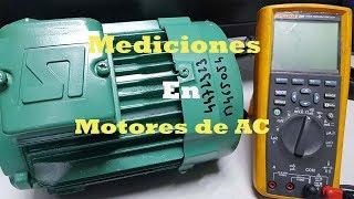 Dos Mediciones Básicas en un Motor de AC utilizando un Multímetro Digital